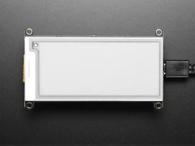 "Adafruit 2.9"" Tri-Color eInk / ePaper Display FeatherWing"