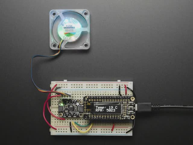 Adafruit EMC2101 I2C PC Fan Controller and Temperature Sensor