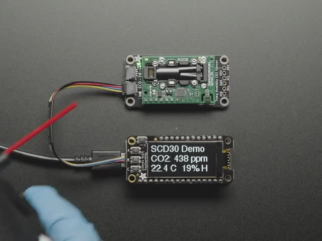 Adafruit SCD-30 - NDIR CO2 Temperature and Humidity Sensor