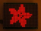 16x24 Red LED Matrix Panel - Chainable HT1632C Driver